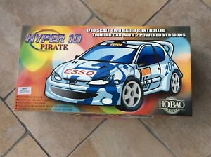 RC Touring Car Kit, 1/10th Scale Electric, Hobao Hyper 10 Pirate, 4WD, New.