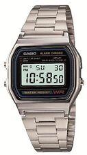 New!! CASIO Standard Mens Watch A158WA-1JF Silver Japan Best Seller Model Import