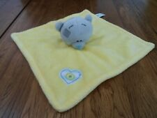 CARTE BLANCHE TATTY TEDDY BEAR BABY COMFORTER BLANKIE SOOTHER