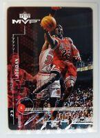 1998 98-99 Upper deck MVP Silver Signature Michael Jordan #51, Parallel Insert