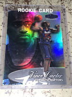 1998-99 Flair Showcase Vince Carter Row 3 #25 Rookie Card