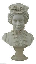 Buste en Plâtre Marie Caroline de Bourbon Classic plâtre Sculptures Antiques