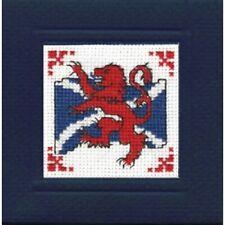 Lion Rampant Scotland Card Counted Cross Stitch Kit