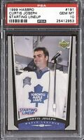 Curtis Joseph 1999 Upper Deck Hasbro Starting Lineup # 191 PSA 10