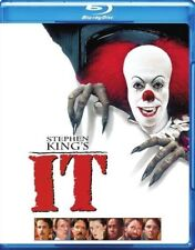 STEPHEN KING'S IT BLU-RAY NEW! HORROR SCARY TERROR EVIL CLOWN, MURDER, HALLOWEEN