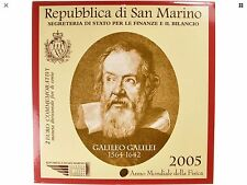 Saint-Marin Folder 2 € Galileo Galilei 2005