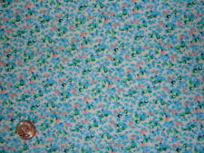 1 Yd Tiny Print Blue Abstract 100% Cotton Fashion Fabric Craft Sewing Hobby