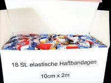 18 Selbsthaftende Bandagen flexible Bandage Haftbandage 10 cmx 2m Haftbandagen