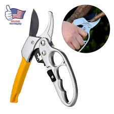 Garden Pruning Shears Pruner Ratchet Scissors Branch Cutter Trimmer Home Tool US
