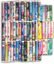Huge Instant Collection Lot of 57 VHS Disney Movies Children's Kids Tapes Gift!