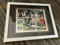 Cassius Winston Michigan State Spartans autographed signed 8x10 photo FRAMED
