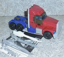 Transformers Prime OPTIMUS PRIME Rid First Edition Voyager w custom weapon