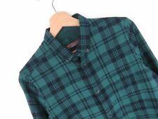 RP1190 Ben Sherman Camisa Top Original Premium a Cuadros Algodón Suave Pequeño