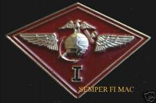 1ST MAW MARINE AIR WING  LAPEL HAT PIN AUTHENTIC US MARINES MAG MACG MWSS MWSG
