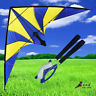 NEW 1.8m 70-In delta dual line control stunt Kite for beginners outdoor fun Toy