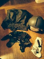 Gentex SPH-4 Vietnam Helmet, w many accessories. Sz XLarge . Pristine condition