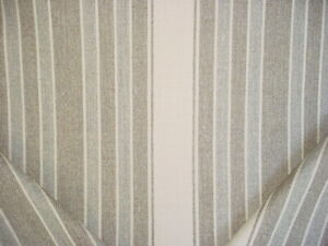 Ralph Lauren LCF67565F Purcell Wool Stripe Timber Brown Upholstery Fabric