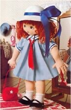 """Best-Friend Rag Doll (13"""" Tall) Sewing Pattern S10141 (NOT FINISHED ITEM)"""