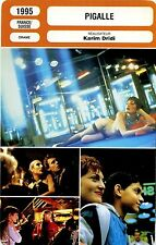 Movie Card. Fiche Cinéma. Pigalle (France/Suisse) 1995