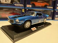 1971 Chevrolet Camaro Z28 - Yellow  - Die Cast Maisto Special Edition 1:18 scale
