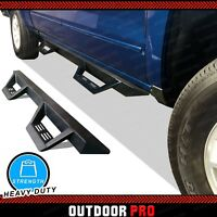 2005-20 Fit Toyota Tacoma Crew Cab Triangle Nerf Bars Running Boards Side Steps
