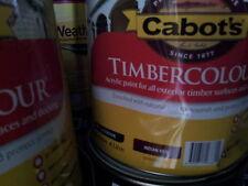CABBOTS BY DULUX 2 LITRE TIMBERCOLOR EXTERIOR LOW/SHEEN BROWN COLOUR PAINT