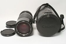 **Excellent++** Canon Zoom Lens New FD 70-150mm f/4.5 W/Case&Hood from Japan