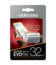 Samsung NEW 32GB Micro SD Card SDHC EVO+ 95MB/s UHS-I Class 10 TF Memory Card UK