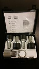 NEW OEM VW LOCKABLE WHEEL BOLT SET Volkswagen wheel lock key set