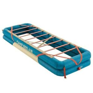 New Decathlon Quechua Camping Air Bed Cot Mattress Support thermarest $99