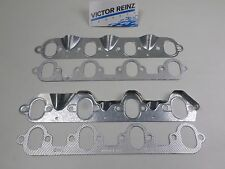 Victor MS15205 Exhaust Manifold Gaskets and Heat Shields for 68-87 Ford 460 7.5
