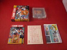 Gunstar Heroes (Sega Game Gear) COMPLETE w/ Box manual game WORKS! Japanese