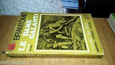 BRANTOME-LE DAME GALANTI VOLUME PRIMO-AVANZINI E TORRACA EDITORI-1967-SR40