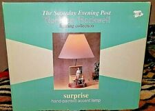 New in Box Vintage Norman Rockwell The Saturday Evening Post Teachers Lamp Light
