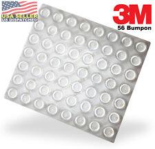 3M Bumpon SJ5303 Clear Bumper/Spacer - Adhesive Polyurethe Rubber Round 56/Sheet