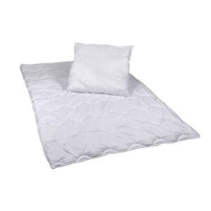 Steppbett Decke und Kopfkissen Premium Set Bettdecke 135x200cm Kopfkissen 80x80
