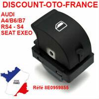 AUDI A4 B6 00-04 B7 04-08 interrupteur bouton leve vitre  référence  8E0959855