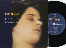 Eurythmics ORIG UK PS 45 Julia EX '84 Virgin VS734 New wave synth pop