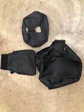 2020 2021 Chevrolet Silverado Gmc Sierra Black Leather Jumpseat Covers