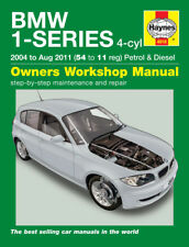 4918 Haynes BMW 1-Series 4-cyl (2004 - Aug 2011) 54 - 11 Workshop Manual