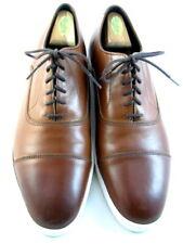 """Allen Edmonds """"PARK AVENUE"""" Leather Oxford Dress Sneakers 11 D  Chili  (650)"""