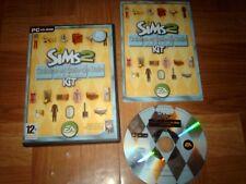 LES SIMS 2...cuisine & salle de bain design...jeu complet...sur PC