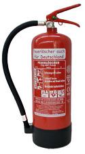 Feuerlöscher 6kg ABC Pulveröscher EN3 Manometer Prüfnachweis Standfuß Wandhalter