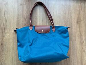 Longchamp Le Pliage Tote Bag - Teal