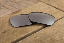 Chrome Silver Mirror Polarized Lenses for Oakley Jupiter Squared - Dark Tint
