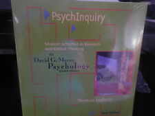 PSYCHOLOGY BY DAVID G. MEYERS( CD, 2007, WORTH PUBLISHERS) NEW SEALED