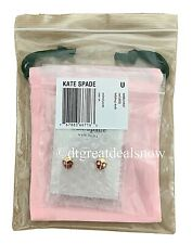 Kate Spade Ladybug Earrings Animal Party Lady Bug Red 12k Gold Plated Studs