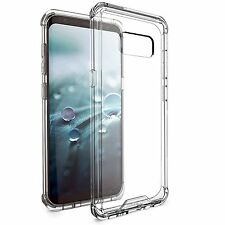 for Samsung Galaxy S8 Case BUDDIBOX Scratch Resistant Clear Bumper Cover