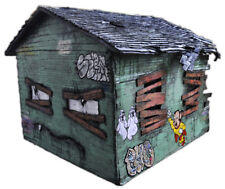 JUSTIN AERNI art Large contemporary Sculpture : GRUMPY GREEN GRANDPA HOUSE