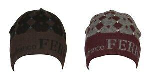 SG Cappello berretto cuffia con risvolto GF GIANFRANCO FERRE' articolo 01221 Mad